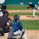 baseball game pitcher